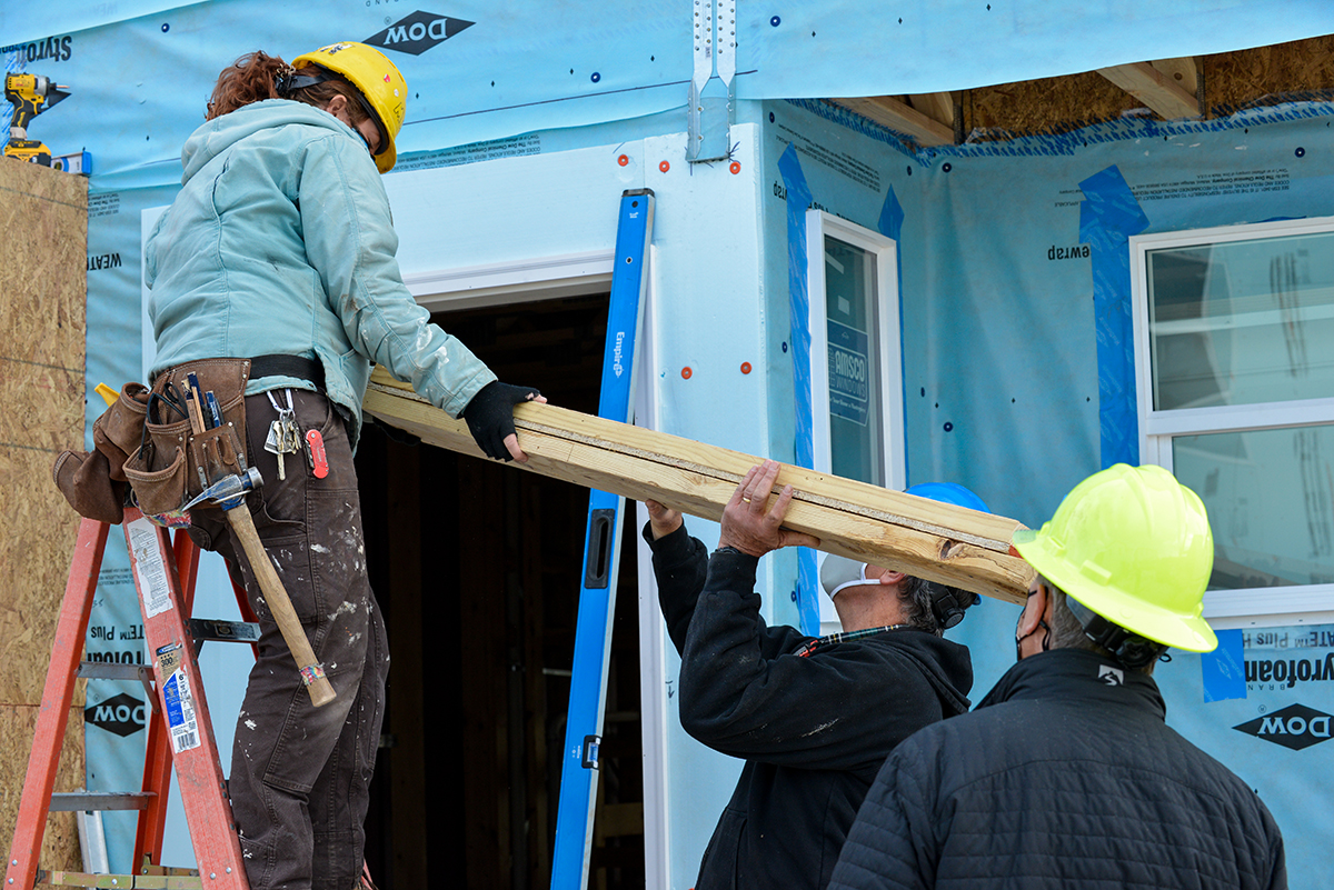Volunteer with Habitat Metro Denver.