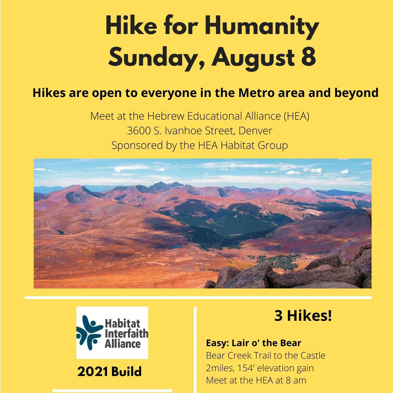 Hike for Humanity