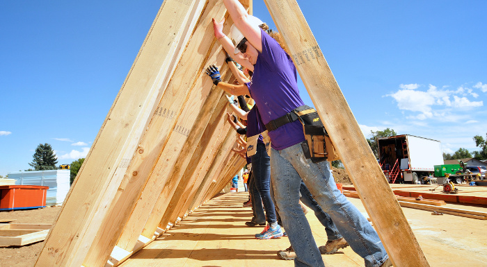 Volunteering Opportunities in Metro Denver with Habitat