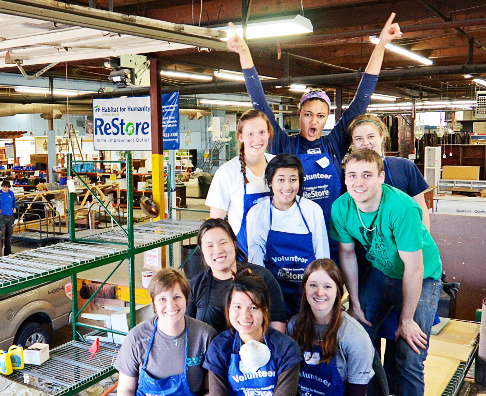 ReStore Volunteers and Community Service Volunteers in Metro Denver