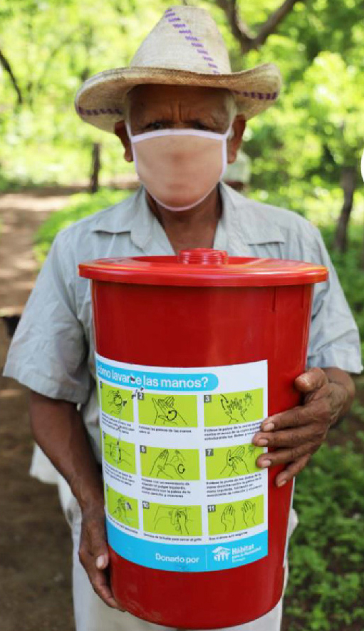Don Domingo with water filtration system